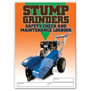 Picture of Stump Grinder Safety Check Logbook