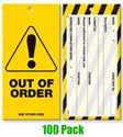 Picture of Lock Out Tags - Style 6 x100