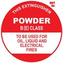 Picture of BE Extinguisher Sign